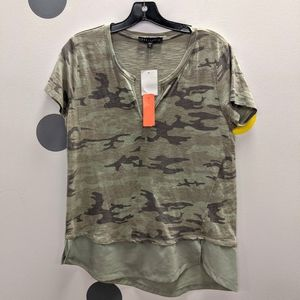 Sanctuary Mixed Media Tee NWT